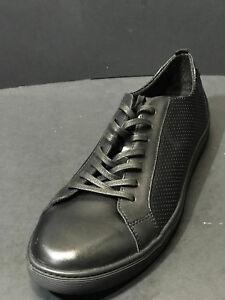 767e7a8f4f New Public Opinion Men's Black Long Lace Fashion Leather Sneakers ...
