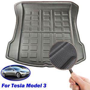 For Tesla Model 3 Boot Liner Cargo Tray Trunk FLoor Mat Carpet Waterproof