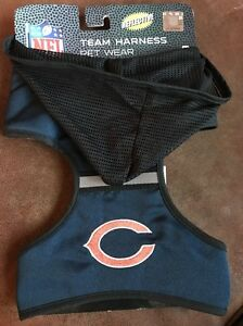 the latest a08a1 407b4 Details about PETS FiRST NFL Chicago Bears LARGE DOG PET TEAM HARNESS New,  Well Made!