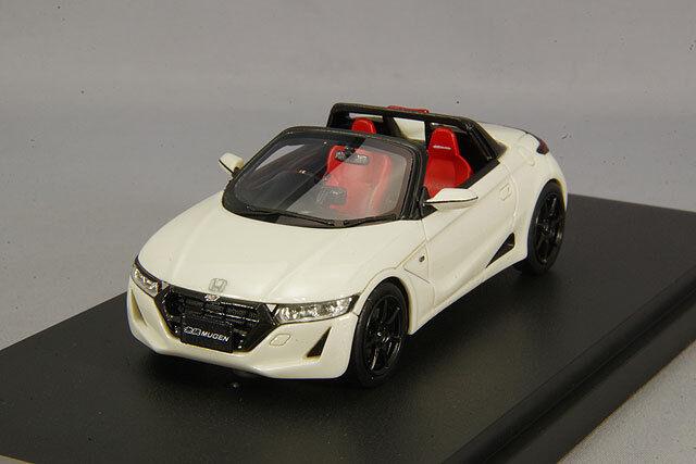 1/43 Mark 43 Honda Mugen S660 ra Premium Star Blanco Pearl PM431MRW