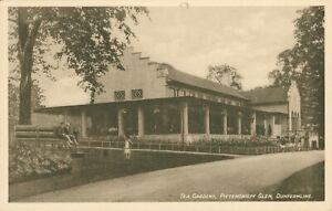 Tea Gardens, Pittencrieff Glen, Dunfermline (D&SK - Davidson Ideal Series) 1910s
