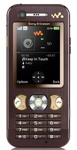 Sony-Ericsson-W890i-W890-i-Walkman-MP3-Handy-Garantie-in-mocca-braun