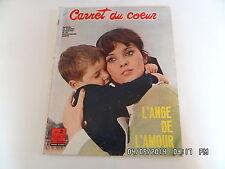CARNET DU COEUR N°11 11/1966 L'ANGE DE L'AMOUR FEMI BENUSSI IRA FURSTENBERG  F80