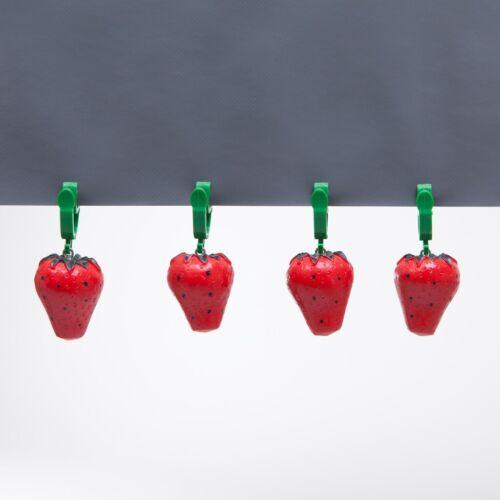 4 Stück Tischdeckengewichte Strawberry Tischdeckenbefestigung Tischdecke