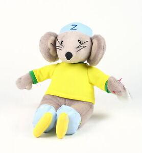 "RASTAMOUSE 8"" plush ZOOMER soft toy ty beanie baby CBeebies TV da easy crew!"