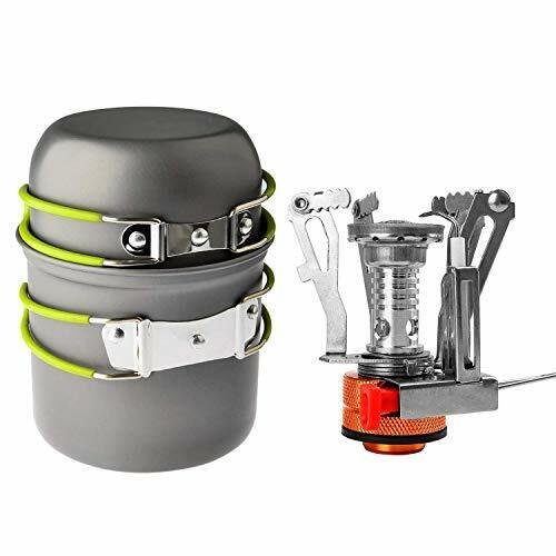 Portable Outdoor Backpacking Cookware Hiking Shayson Camping Stove Pan