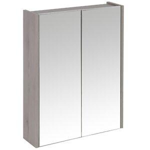 Croydex-gris-madera-2-puertas-Espejo-Del-Bano-armario-almacenaje-higiene