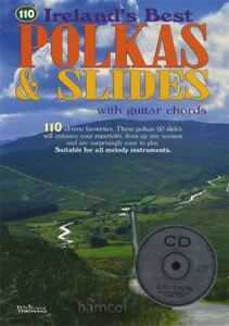 Appris 110 Irelands Best Polka & Diapositives Book/cd-afficher Le Titre D'origine