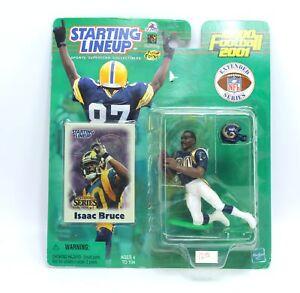 ISAAC BRUCE 2000 2001 Rams Football Extended Starting Lineup SLU Action Figure