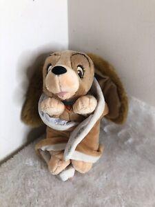 Disney Babies A Dama E O Vagabundo manta macia brinquedo de pelúcia de Pelúcia Colecionável