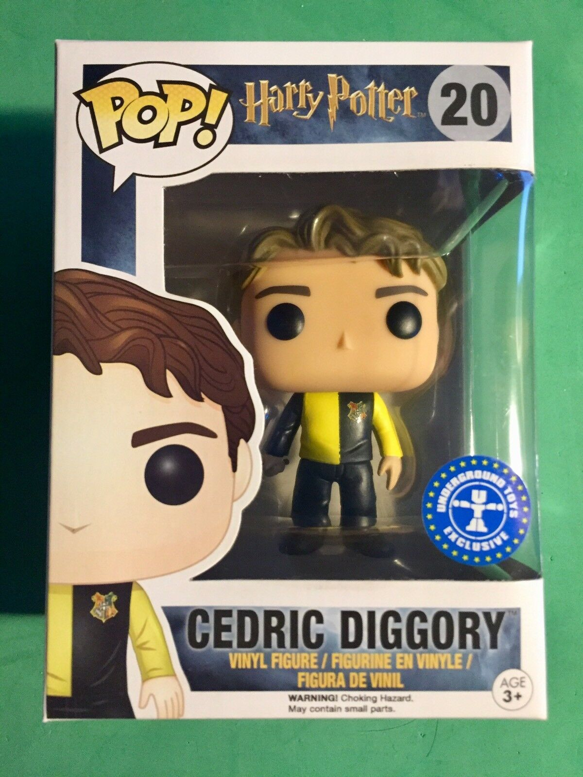 Funko POP  Cedric Diggory EXCLUSIVE   Harry Potter  20 FREE PROTECTOR