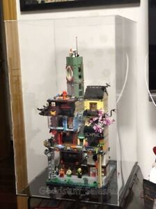 Lego-display-case-for-LEGO-Ninjago-City-By-70620-Australia-Seller
