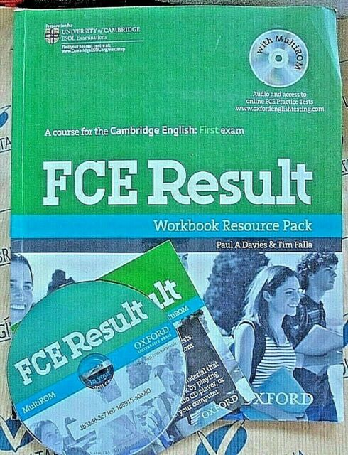 FCE RESULT WORKBOOK RESOURCE PACK without KEY e con Cd - P.DAVIES - OXFORD