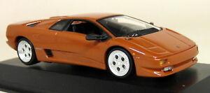 Minichamps-1-43-Scale-400-103570-Lamborghini-Diablo-039-94-Copper-Diecast-model-Car