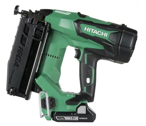 "Hitachi NT1865DM 2-1//2/"" 18 V Brushless Lithium Ion 16Ga Straight Finition Cloueur"
