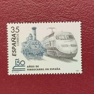 España año 1998 150  años del Ferrocarril en España Nº 3591 MNH