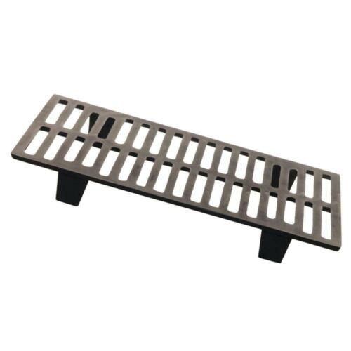 Fireplace Grate Cast Iron For US Stove Model 2421 Heavy-Duty Elevate Fire