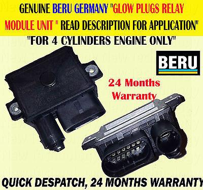 FOR 1 5 SERIES 118D 120D 520D X3 2.0D GLOW PLUG X4 /& RELAY CONTROL MODULE UNIT