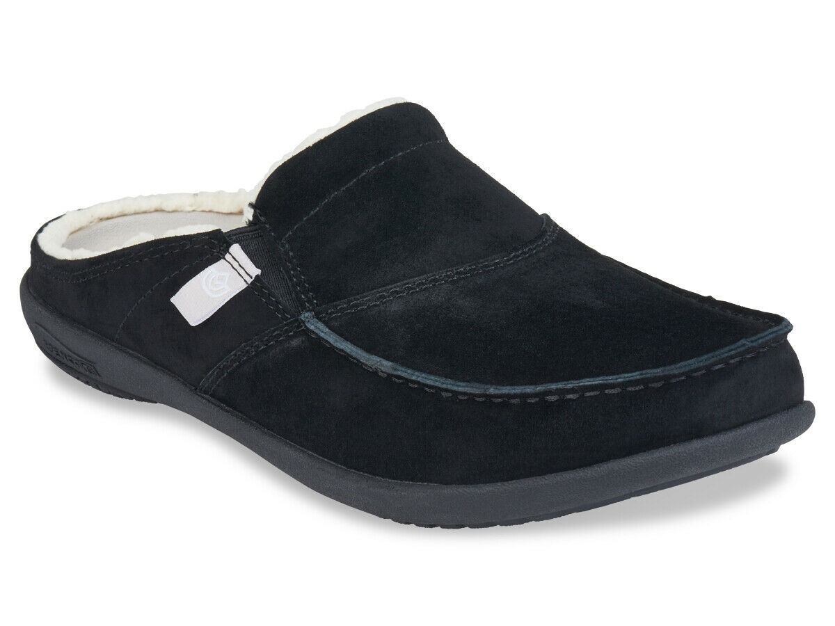 Wouomo Spenco Total Support Ortcalienteic Cozy Siesta Slide nero Sz 9
