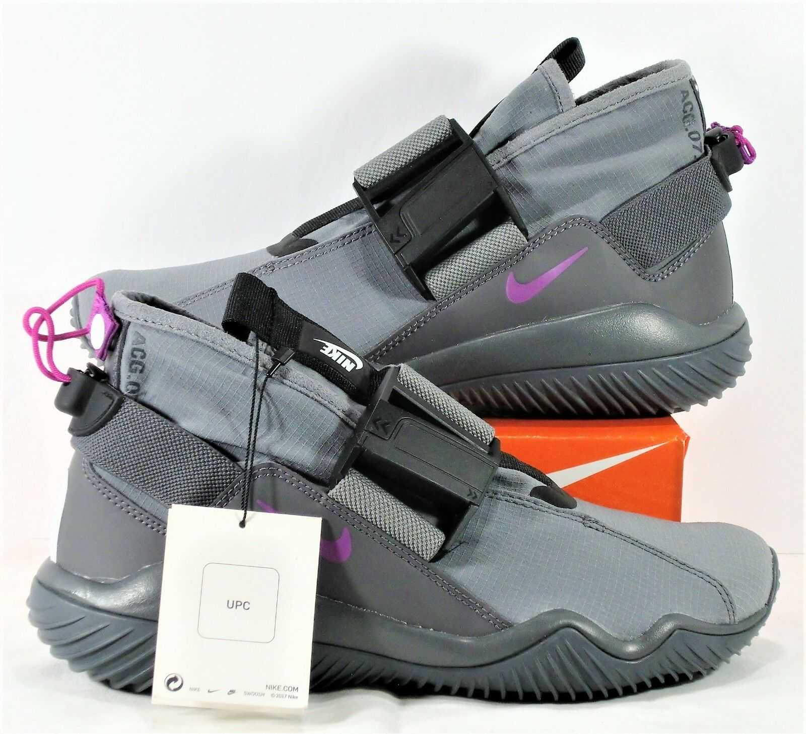 NikeLab Nike ACG.07.KMTR Cool 5.5 Gray & Magenta Sz 5.5 Cool NEW 902776 002 RARE 63bc38