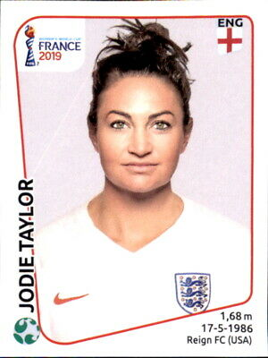 FäHig Panini Frauen Wm 2019 Sticker 266 - Jodie Taylor - England