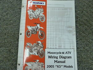 Details about 2005 Suzuki Katana Vinson U-Strom Hayabusa Motorcycle on