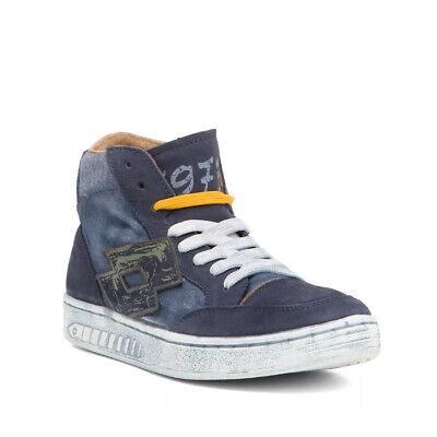 Scarpe Sneakers Alte Uomo LOTTO LEGGENDA Q5581 DINO IV Blu | eBay