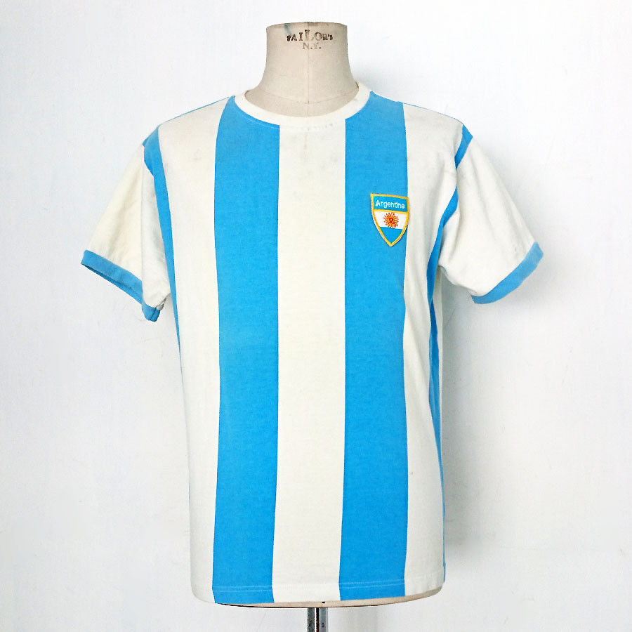 MAGLIA CALCIO VINTAGE INTERNATIONAL SHIRT LONDON plataINA ART.6621