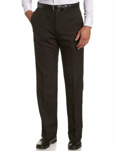 MENS EXPAND-A-BAND TROUSERS SELF ADJUSTING WAISTBAND   COLOURS BLACK//GREY//BEIGE//