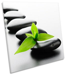Zen-Stones-Spa-CANVAS-WALL-ART-SQUARE-Picture-Print