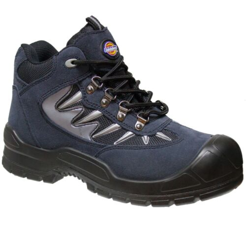 MENS DICKIES STORM LEATHER SAFETY SHOES WORK HIKER ANKLE BOOTS STEEL TOE CAP SIZ