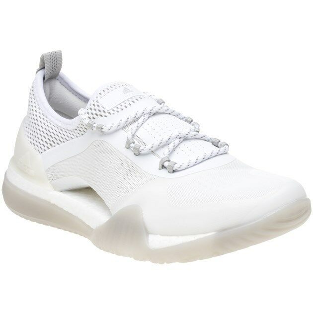 New Damenschuhe Stella McCartney Weiß Pureboost X 3.0 Tr 3.0 X Nylon Trainers Running Lace 2b5c30