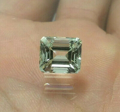 Natural Aquamarine Emerald Cut Stone *Emerald Cut Shape *Size 15.5x6.5x5.7mm* Blue Color /& Quality Gemstone*For Jewelry *Loose Aquamarine