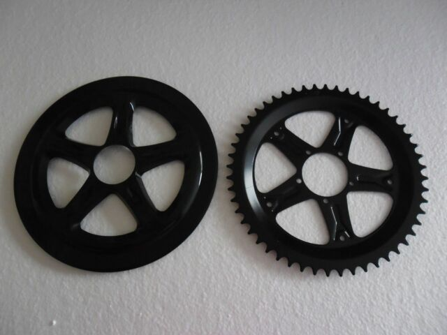 APAR EBIKES  8Fun 48T Chainwheel Chain Ring Crankset And Replacement Chain Guard