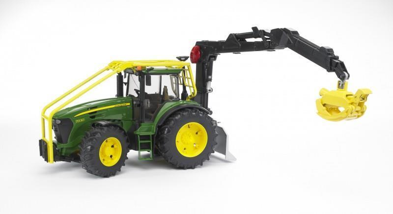 John Deere 7930 Forestier tracteur échelle 1 16 Modèle Jouet Cadeau Noël