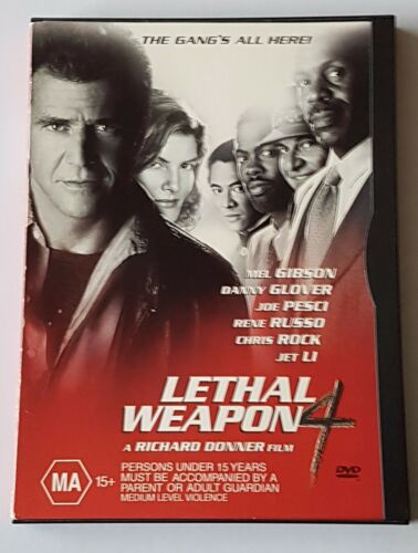 1 of 1 - Lethal Weapon 04 DVD (#DVD01594)