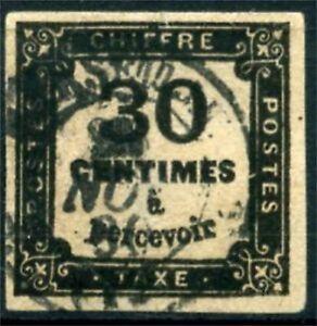 TIMBRE-TAXE-N-6-OBLITERE-SIGNE-CALVES