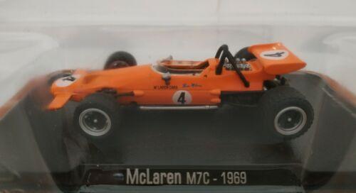 1//43 MCLAREN M7C 1969 #4 BRUCE MCLAREN F1 FORMULA 1 ATLAS ESCALA