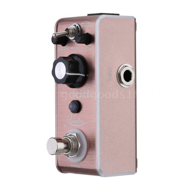 Rowin LEF-612 Flanger Pedal Mini Portable Guitar Effect Pedal R8T6