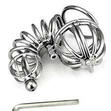 Slave Bondage Male Chastity Belt Chastity Device CBT Urethral Tube za072