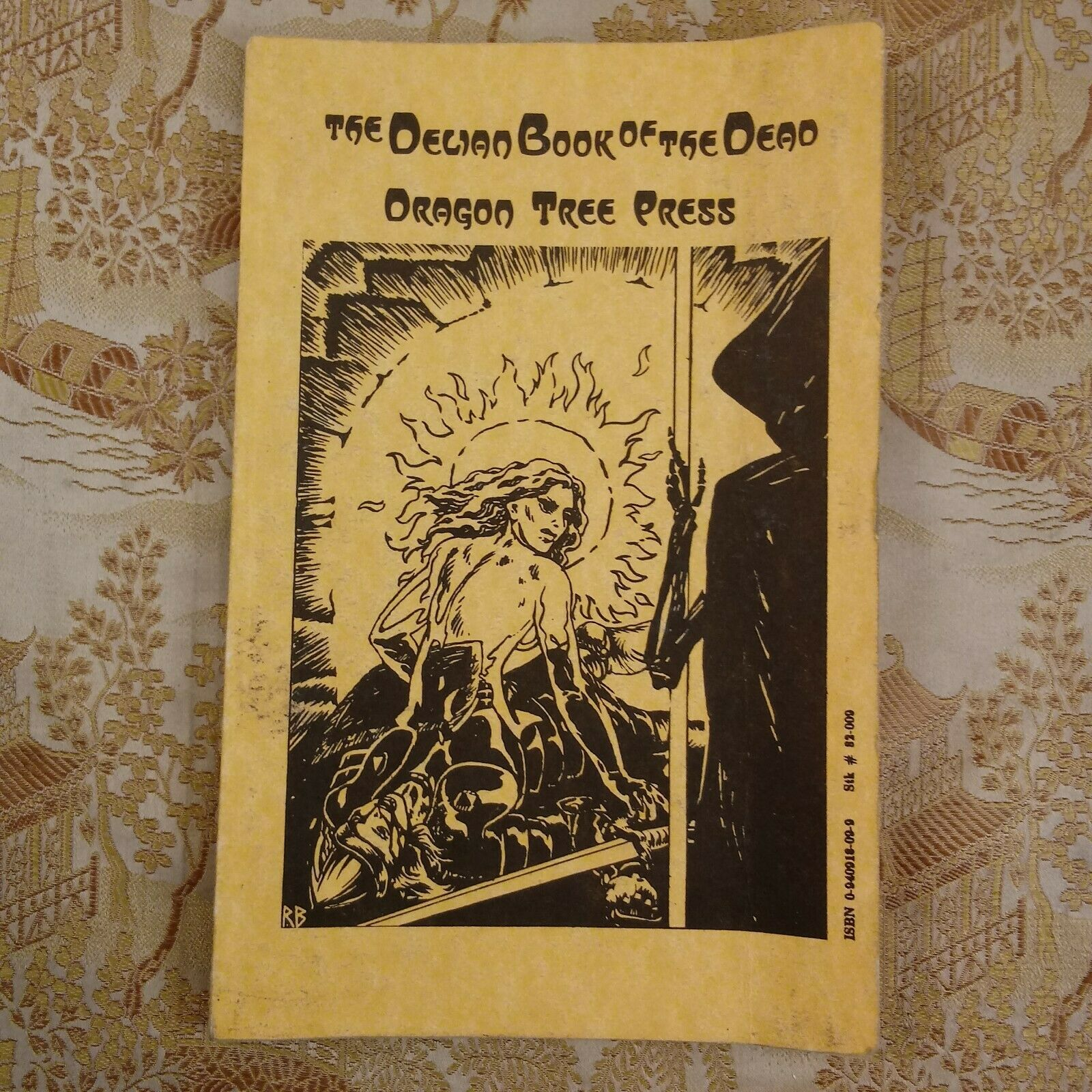 Delian Book of the Dead, Dragon Tree Fantasy RPG (1st Edition, VG) 1986