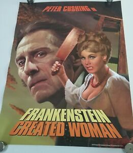 Frankenstein Created Woman - Poster 18x24 Shout Factory rare horror print print
