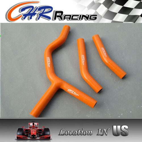 KTM 125 200SX 200SX 03-06 2004 2005 2006 Silicone Radiator Hose Kit orange new