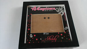 Capricorn-3-x-5-Picture-Frame-Black-Pink-Astrology-Sign-Zodiac-Ambitious-Wise