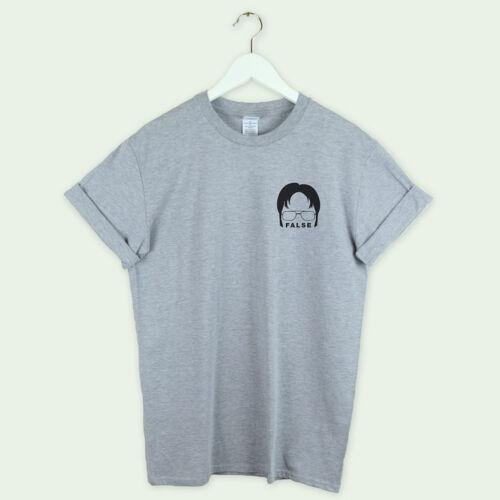 The Office t shirt tee top False Shirt Dwight Christmas gift unisex tumblr