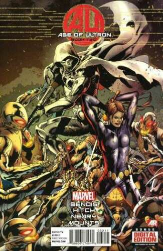 AGE OF ULTRON BOOK TWO NEAR MINT MARVEL COMICS #nb-0236