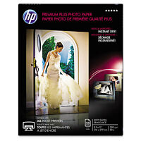 Hp Premium Plus Photo Paper 80 Lbs. Soft-gloss 8-1/2 X 11 25 Sheets/pack Cr671a on sale