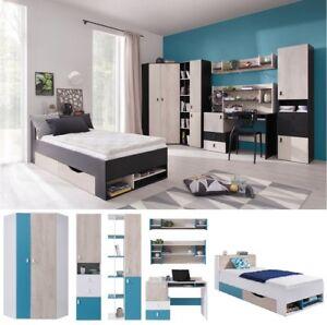 Details Zu Jugendzimmer Kinderzimmer Komplett Space Set D Eckschrank Schreibtisch Regale