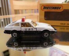 Polizei Auto / Nissan 280 ZX Fairlady POLICE CAR / Matchbox Superfast Japan OVP