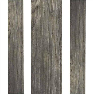 Vinyl Plank Flooring Self Adhesive Peel And Stick Kitchen Gray Grey Wood Floors 786641358174 Ebay